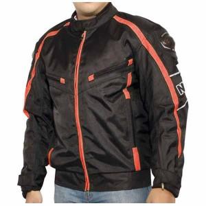 Jual Jaket Motor Racing Strip Orange Bahan Cordura Nyaman Murah ... 02666e1e4b