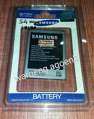 BATERAI SAMSUNG GALAXY S4 MINI i9190 (ORIGINAL 100%)