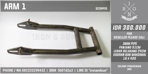 SWING ARM SCORPIO CAFERACER JAPSTYLE BOBBER CLASSIC