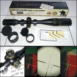 GSR 4-16X40 AOE IR ( GOLD  pcp gejluk airsoft