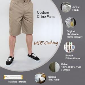 harga Celana chino pendek [LocalBrand: USE-CLOTH] Tokopedia.com