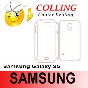 Stiker / Garskin Handphone / all type / Samsung / Samsung Galaxy S5
