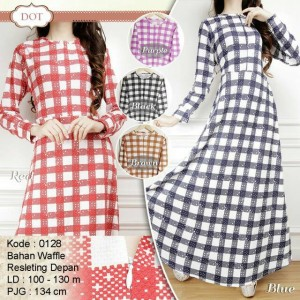harga dress wafle 0128 Tokopedia.com