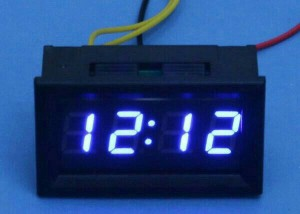 Jam clock watch digital mini variasi arus dc