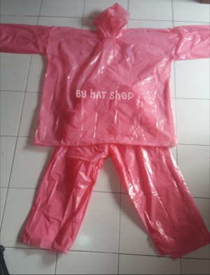 Jas Hujan Plastik (Atasan+Celana)