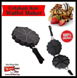 Waffle wafle maker Cetaka kue pembuat kue wafle