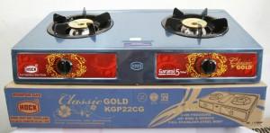 Hock kompor gas 2 tungku classic gold KGP 22CG