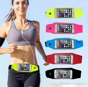 harga Tas Pinggang Olahraga / Waterproof Waist Sport Bag Smartphone 4.7 inch Tokopedia.com