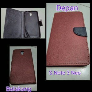 harga Flipcover Samsung Note 3 Neo N7505 / casing Handphone Note 3 Tokopedia.com
