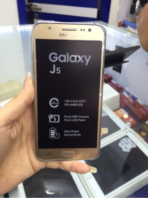 Jual Samsung Galaxy J5 Gold Limited Edition
