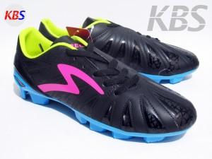 Sepatu Bola Specs Tomahawk FG (Black/Scandinavian/Cirrus Blue)