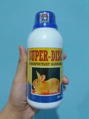 harga SUPER DISC 250 ml - Disinfektan Kandang Kelinci,Hamster,Landak, dll Tokopedia.com