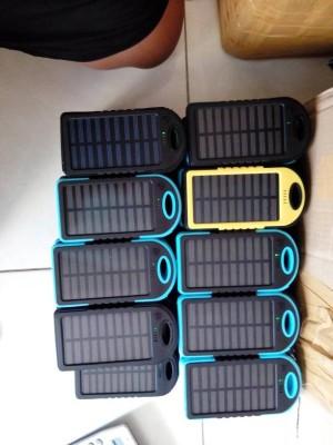 harga Power bank powerbank solarcell tenaga matahari tenaga surya 50.000mah Tokopedia.com