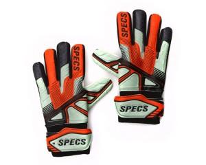 Sarung Tangan Kiper Specs Swervo Criollo GK Gloves - Stone Grey/W Red