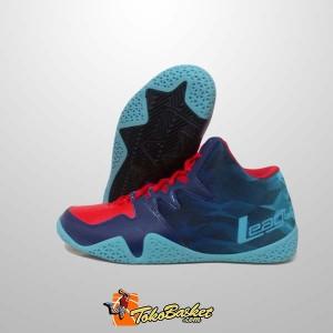 Sepatu Basket League Beast Merah Biru Original