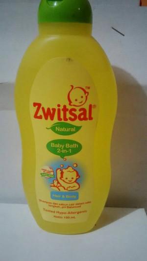 harga ZWITSAL NATURAL B-BATH 2 IN 1 hair&body Tokopedia.com