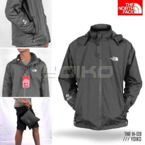 jaket gunung The North Face import tipe H-09 army green termurah