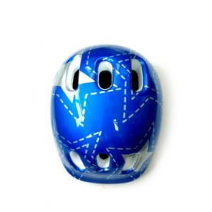 Helm Sepeda Anak HELMET PVC JUNIOR STAR (BLUE)