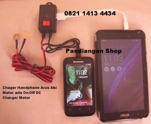 Charger Handphone di Accu untuk Motor