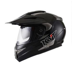 harga Helm Supermoto Fullface KYT Enduro Solid Hitam Tokopedia.com