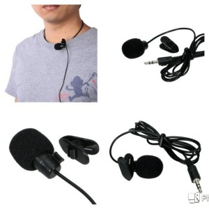 Microphone with Clip for Smartphone / Laptop / Tablet P