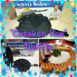 Cetaka kue Waffle wafle maker pembuat kue wafle
