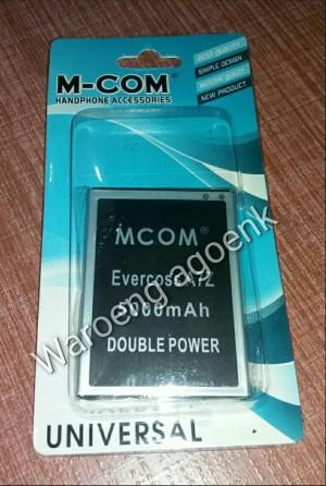 BATERAI M-COM FOR EVERCROSS  A7Z DOUBLE POWER 5000mAh