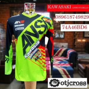 harga jersey cross|baju motocross|jerset trail|drifit kawasaki otjcross Tokopedia.com