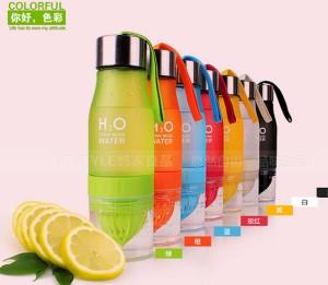 Botol Infused Water / H2O Infused Water Bottle Citrus Buah Fruit Juice