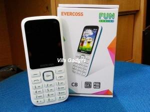 Evercoss C8 Dual SIM, Camera, Mp3 Player