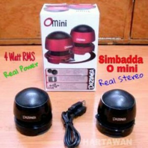 SIMBADDA DAZUMBA O MINI SPEAKER AKTIF STEREO SPIKER POWER