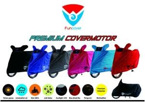cover motor/pelindung motor funcover untuk motor bebek/matic