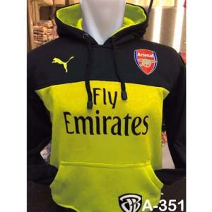 Jaket Hoodie Jumper Arsenal Sweater Bola #The Gooners #Kemeja Songket
