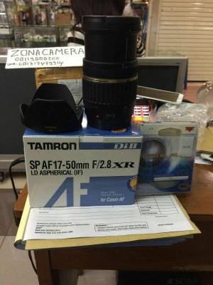 Lensa Tamron 17-50 F2.8 NON VC for Canon/Nikon
