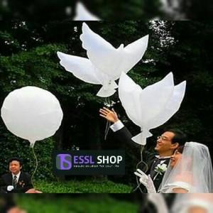 Balon Foil Burung Merpati by Esslshop