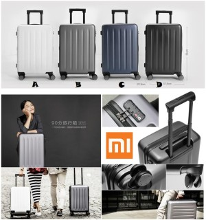 harga ORIGINAL XIAOMI LUGGAGE 20 INCH / MI SUITCASE / KOPER FIBER TRAVEL BAG Tokopedia.com