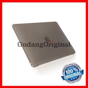 """Monocozzi Lucid Transparent Hard Case Macbook 12"""" - Matte Black"""