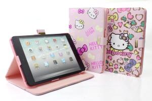 harga Cover iPad Mini 1/2/3 Hello Kitty (Sanrio) Book Leather Case Tokopedia.com
