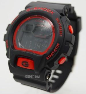 G-Shock Digital DW 6900 I Black Red