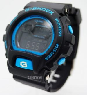 G-Shock Digital DW 6900 I Black Blue