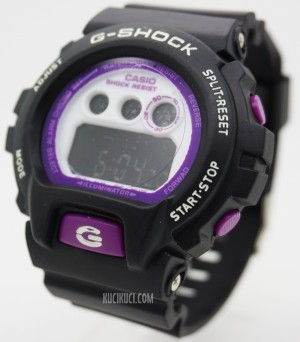 G-Shock Digital DW 6900 Black Purple