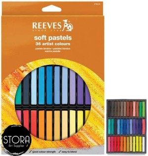 REEVES SOFT PASTELS ISI 36
