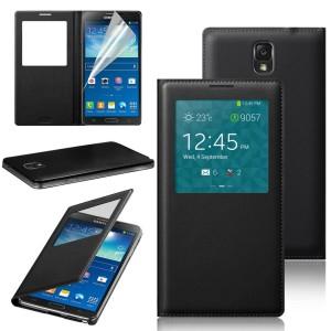 harga SAMSUNG Galaxy Note 3 Neo N7505 Flip Cover S-View Autolock OEM Chip Tokopedia.com