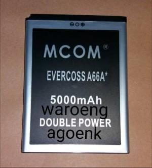 BATERAI M-COM EVERCROSS A66A ELEVANTE DOUBLE POWER 5000mAh