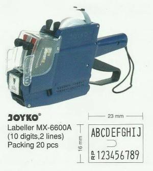 mesin cetak nama&harga barang.JOYKO 6600.(ekonomis&praktis)