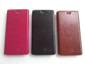Flip Leather Case W9500 Polytron PRIME-5
