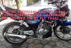 Knalpot Tiger Revo POLOS (Tanpa Cover) PnP Thunder125 REPLIKA-HANDMADE