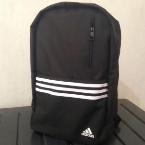 harga Tas Ransel ADIDAS ORIGINAL Black Versatile 3S Hitam Backpack Sport Bag Tokopedia.com