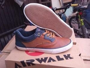 AIRWALK EARL - Camel , Sepatu Casual Sneakers Gaul ORIGINAL