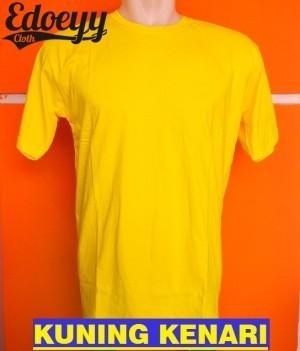 Kaos Polos Kuning Kenari / Baju Kaos Polos  / T-shirt, Oblong, O Neck